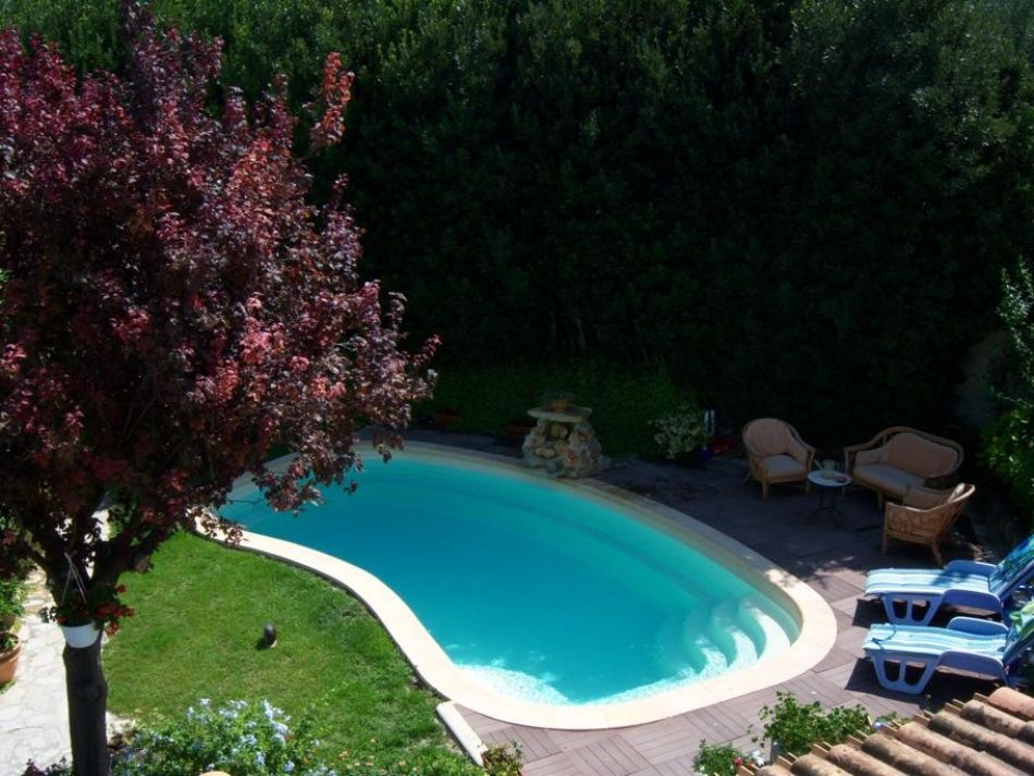 Piscine en haricot piscine forme originale for Piscine originale